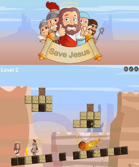 Steam: Save Jesus