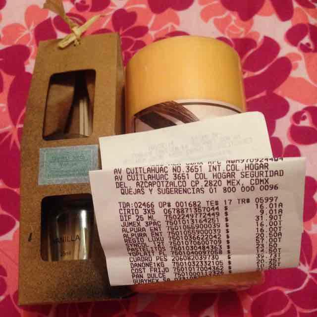 Walmart: difusor 25ml a $9.01 y vela a $16.01