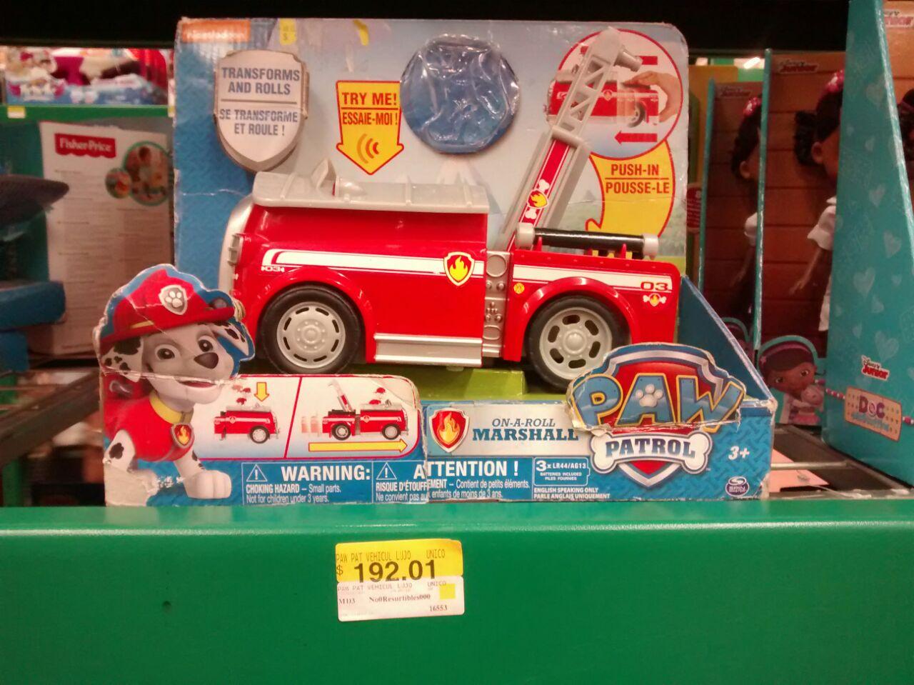 Walmart Merida: Paw patrol y ropa para niña (4-16)
