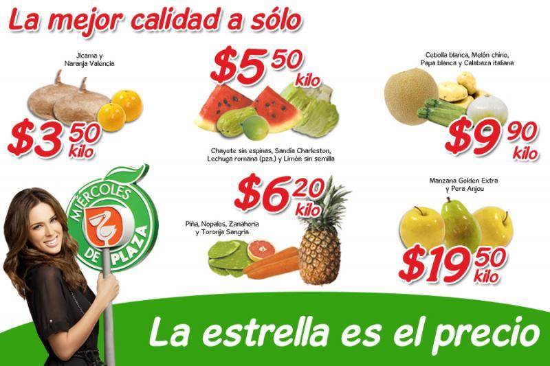 Miércoles de Plaza en La Comer mayo 16: jícama $3.50, sandía $5.50 y más