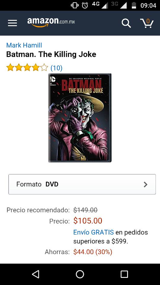 Amazon: Batman the Killing Joke