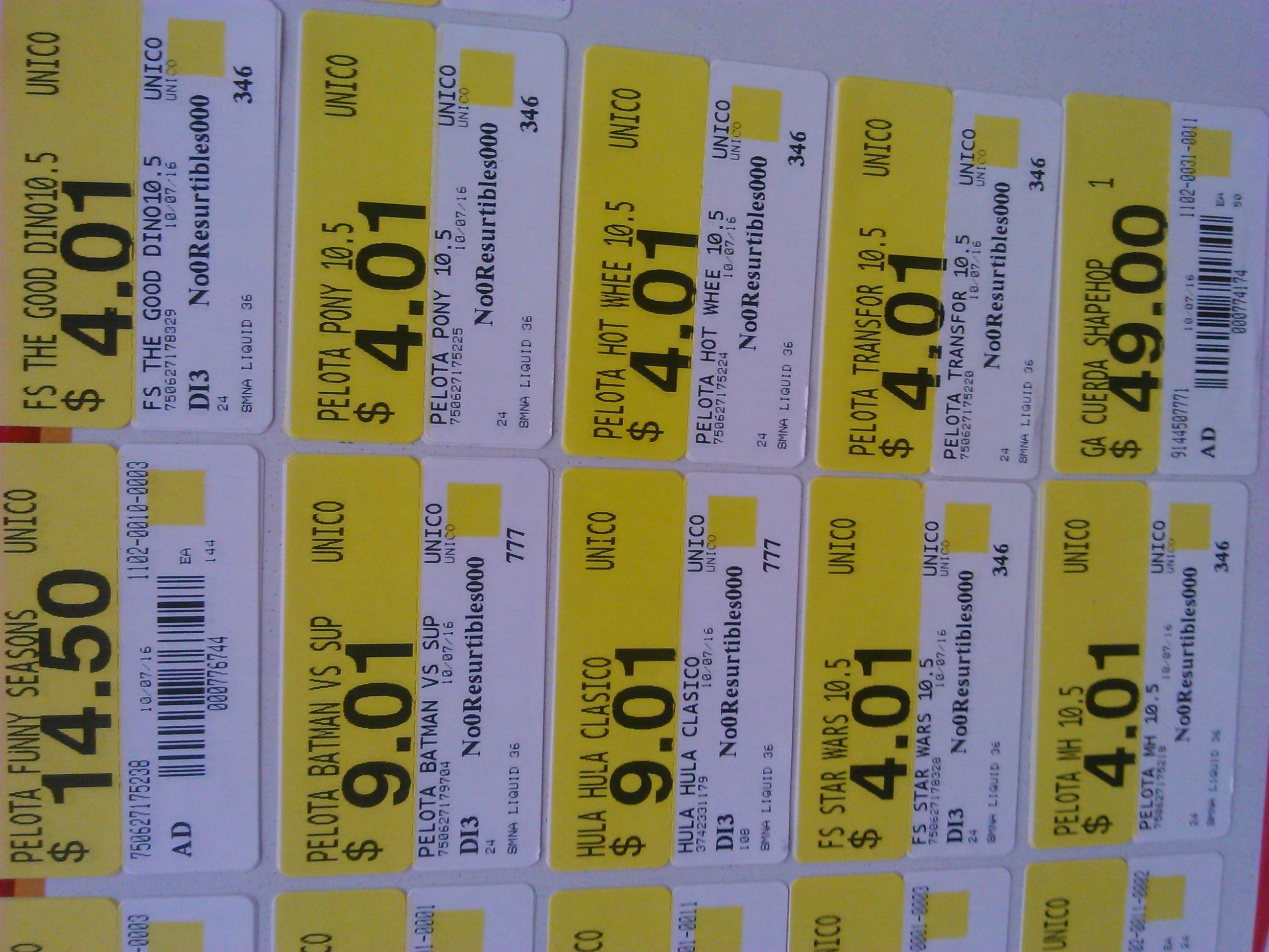 Walmart Miramontes: pelota mediana varios personajes a $4.01