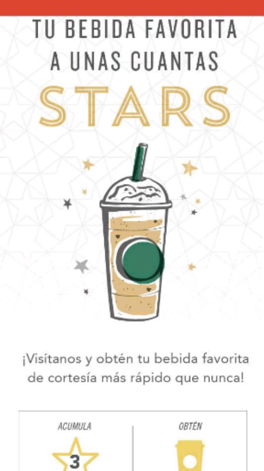 Starbucks: realiza 3 visitas y obten bebida gratis hasta el 23 de octubre