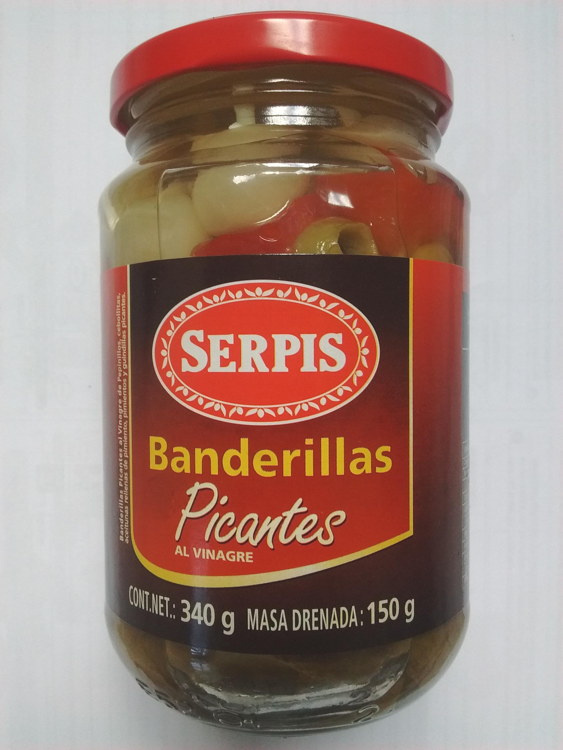Walmart Toltecas: Banderillas Picantes Serpis ( Pepinillos ) y Otros