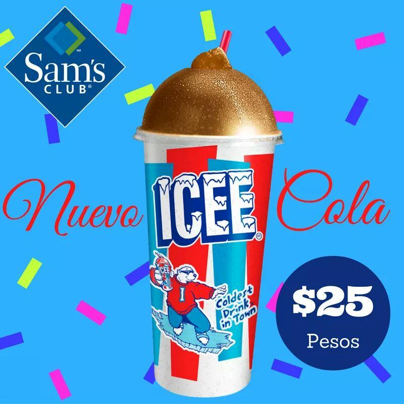 Sam's Club: Icee sabor cola $25