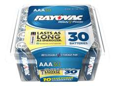 Amazon MX: Rayovac Alkaline AAA Batteries, 30-Pack