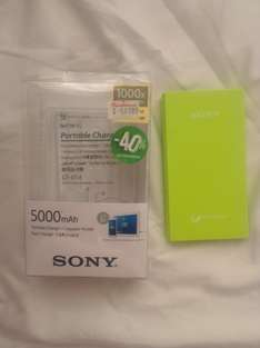 Sanborns: power bank al 40 SONY