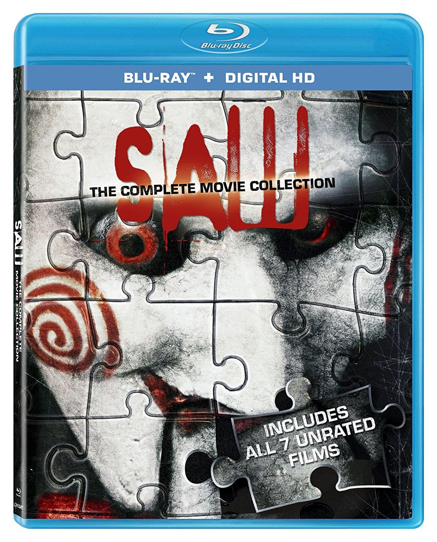 Amazon: Saw The Complete Movie Collection en BluRay (7 películas)