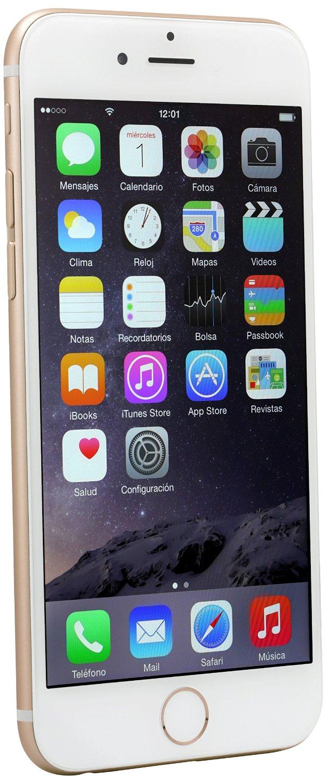 Amazon: iPhone 6s 16 gb Color Oro. Desbloqueado