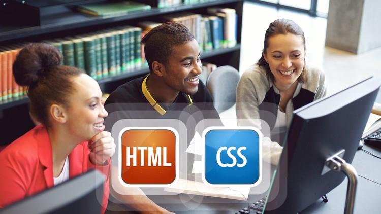 Udemy, curso gratis y NO DISCRIMINATORIO de HTML y CSS.