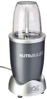 Amazon: Nutribullet Mas Delux Kit Juego de Vasos y Aspa, color gris