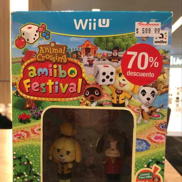 Sanborns Coacalco: Animal Crossing amibo Festival + Isabelle y Digby + 3 tarjetas