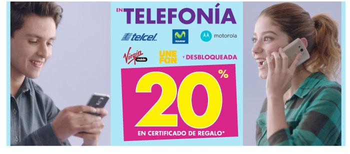 Suburbia: Telefonia 20% en certificado de regalo y 3X2 en toda la corsetería y ropa interior