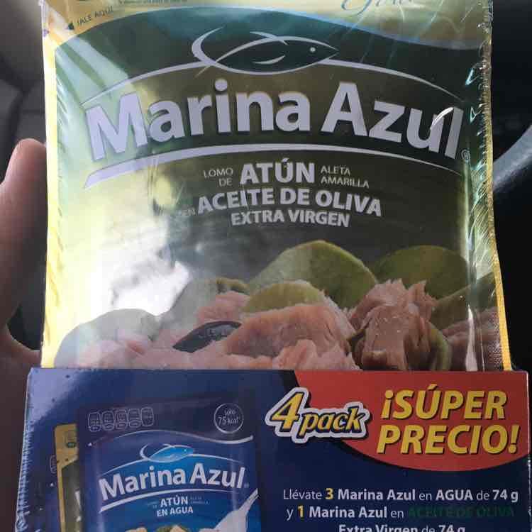 Walmart: 4 paquetes de atún Marina Azul por $9.01