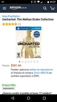 Amazon: Uncharted The Nathan Drake Collection