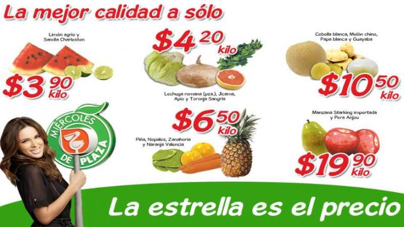 Miércoles de Plaza en La Comer mayo 9: piña $6.50, pera $19.90 y más