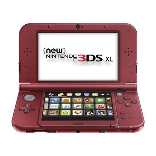 Amazon: Consola New Nintendo 3DS XL Rojo a $4359.60 con BANORTE (otros medios $4,844)