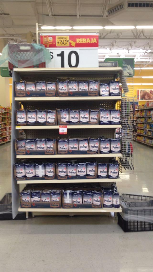 Walmart Miguel Alemán. Gpe, N.L: Manteca PRIMOR de 1KG a $10.00