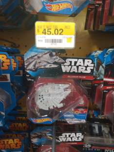 Walmart Gran Patio Zapopan: naves Star Wars a $45.02