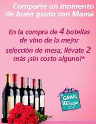 Superama: compra 4 vinos de mesa y lleva dos de regalo