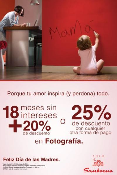 Sanborns: 25% de descuento o 20% y 18 MSI en fotografía, pantallas, audio y video
