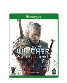 Amazon: XBOX ONE - The witcher 3 Wild Hunt