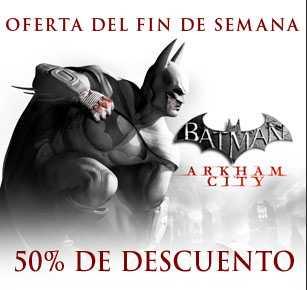 Steam: Batman Arkham City 15 dólares, Arkham Asylum $6.80 y más