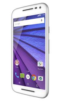 Amazon MX: Moto G3 Blanco 16GB $2397 (con Banorte $2157)