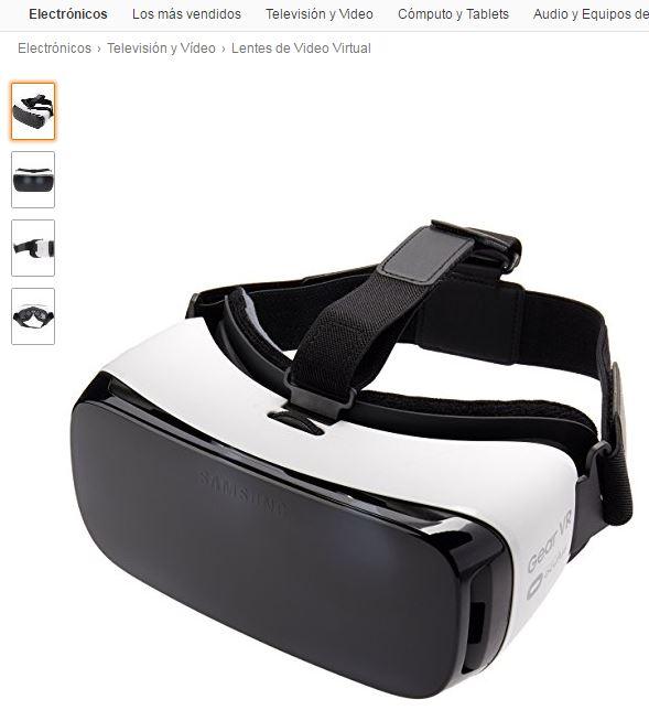 Amazon: Gear VR Lite vendido y enviado por Amazon