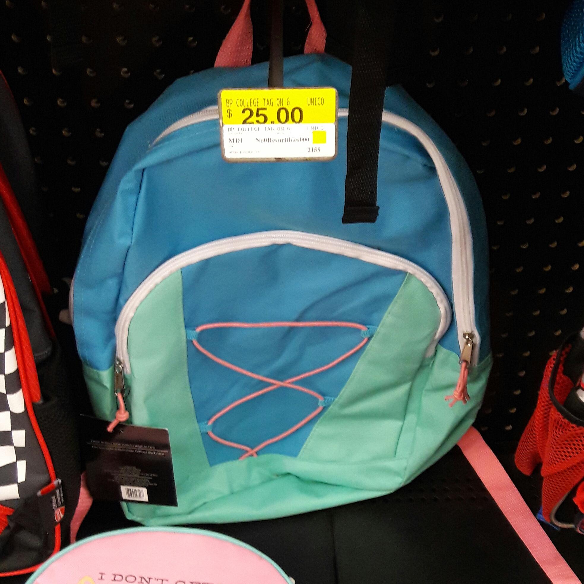 Walmart: Mochila sencilla $25
