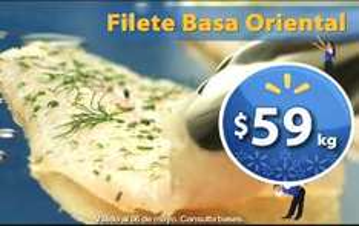Fin de semana de frescura Walmart mayo 4: filete basa $59 Kg y más