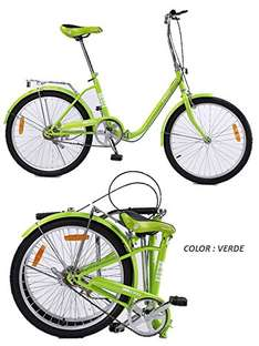 Amazon: Bicicleta Plegable Retro Vintage Rodada 22 pulgadas Ultra Ligera Varios Colores