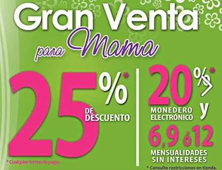 Gran Venta The Home Store: 25% de descuento o 20% en monedero y 12 meses sin intereses