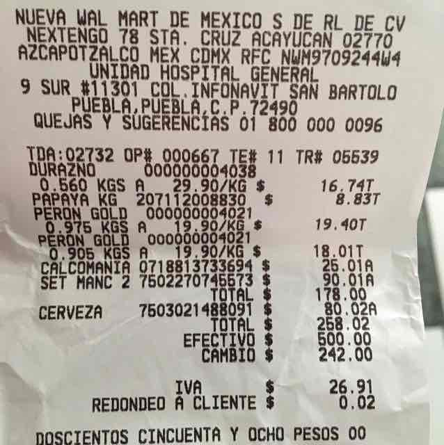 Walmart Hospital General: 2 cervezas artesanales más tarro a $80.02
