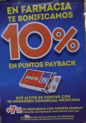 Comercial Mexicana y Mega: 10% de bonificación en Monedero en Farmacia Miércoles 19 Octubre