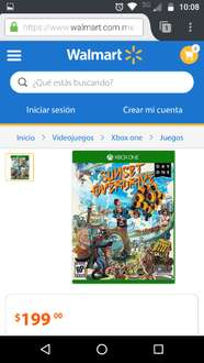 Walmart: Sunset Overdriver para Xbox One a $199