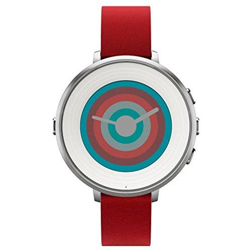 Amazon EEUU: Smartwatch Pebble time round correa roja de 14 mm