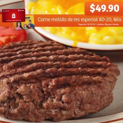 Soriana Híper y Súper: Recompensa Miércoles 19 Octubre: Carne Molida de Res Especial 80-20 $49.90 kg.