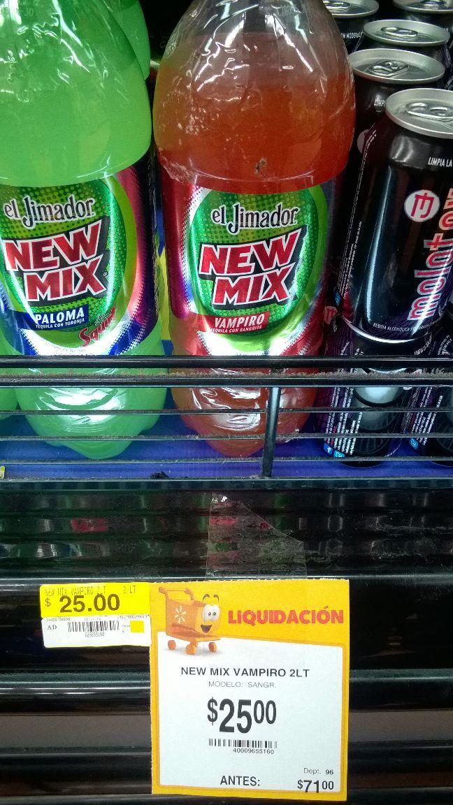 Walmart Merida: El Jimador New Mix Vampiro 2 litros, de $71 a $25