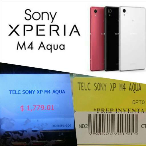 Bodega Aurrerá: Sony Xperia M4 Aqua