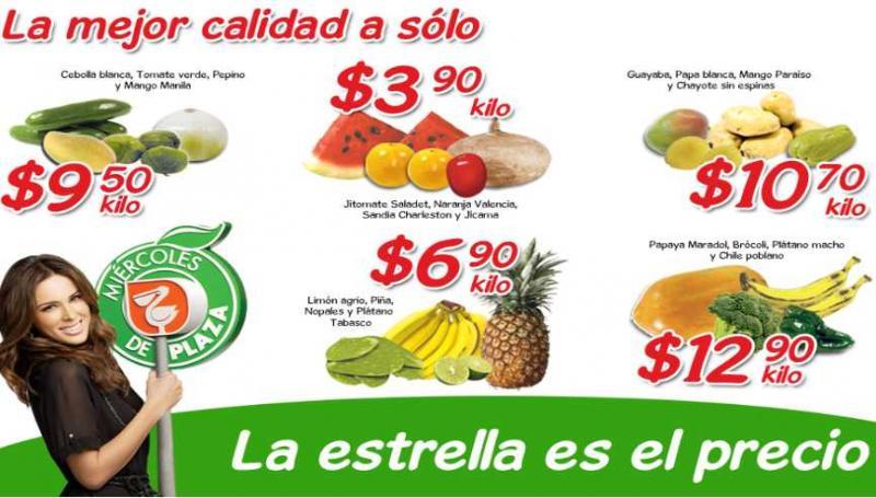 Miércoles de Plaza en La Comer mayo 2: jitomate y sandía a $3.90 y más