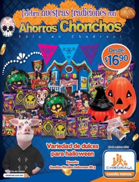 Chedraui: Folleto Halloween del 20 al 31 de Octubre
