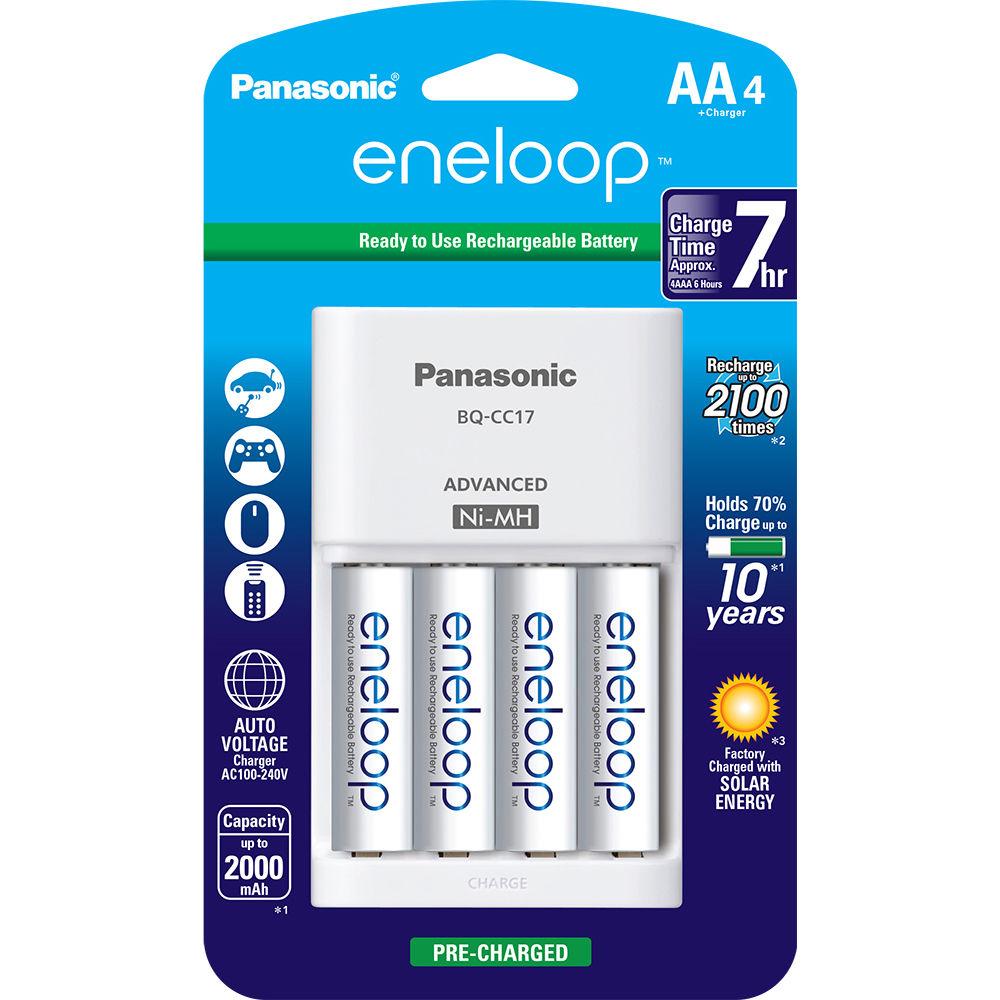 Amazon: Baterías AA Y Cargador Eneloop Panasonic