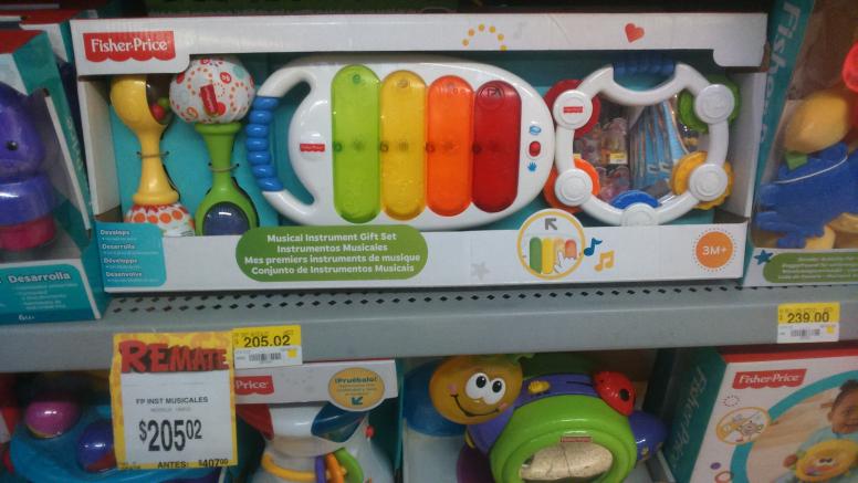 Bodega Aurrerá: Fisher Price Set de instrumentos musicales y otros juguetes