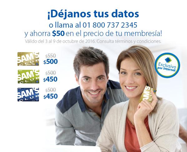 Sam's Club: membresía a $200 al pagar con Bancomer