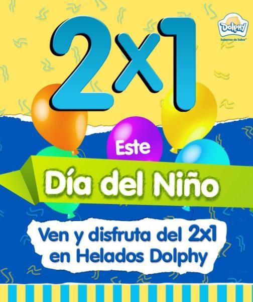 Dolphy: 2x1 en helados por el día del niño