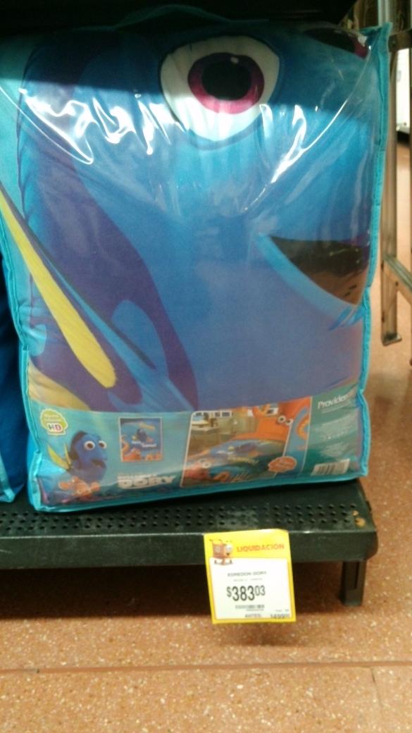 Walmart Jiutepec, Morelos: edredon Dory a $275.02