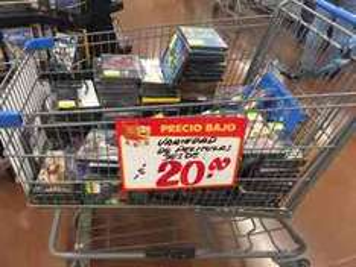 Walmart Lincoln, variedad de peliculas desde $20