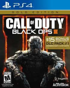 Amazon: Call of Duty Black Ops 3 Gold Edition