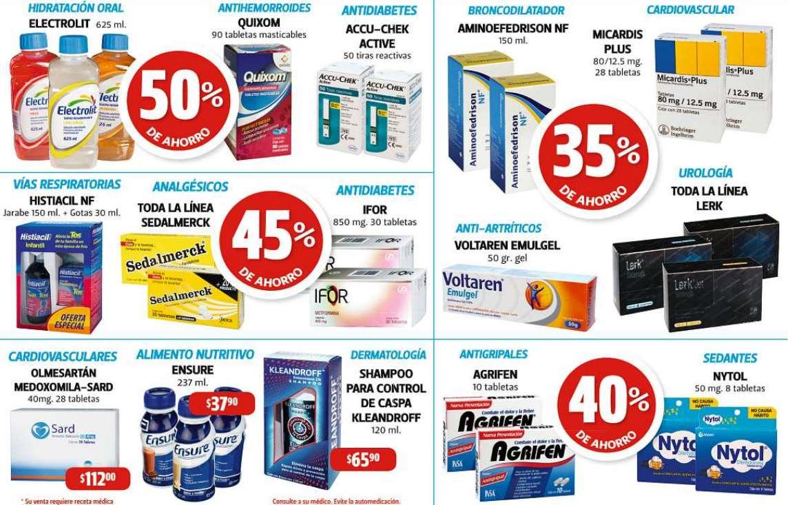 Farmacias Guadalajara: 50% de descuento en Electrolit